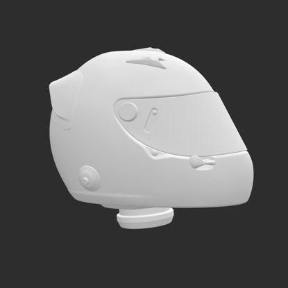 ヘルメット3Dプリントモデル