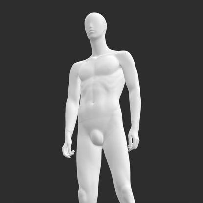 Dominante man etalagepop 3d print model