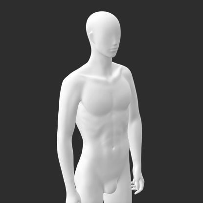 مدل چاپ سه بعدی مانکن مردانه