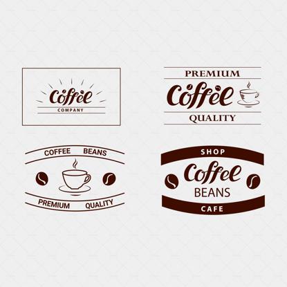 Кофейная компания, премиальное качество, кофейные зерна, логотип, чашка кофе, стильный коричневый цвет, логотип для бизнеса, кафе, магазин, идентичный дизайн, флаер, наклейка, реклама, вывески