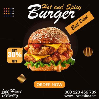 Food Poster Design Template