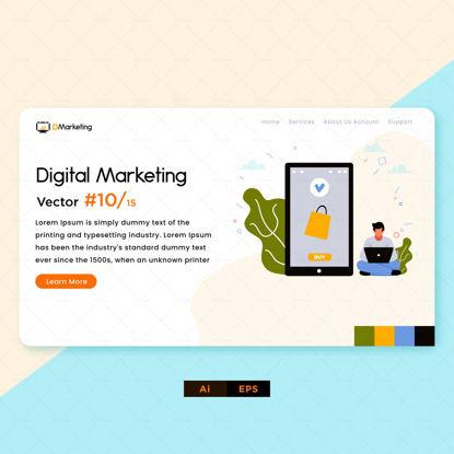 خرید آنلاین طراحی دیجیتال مارکتینگ