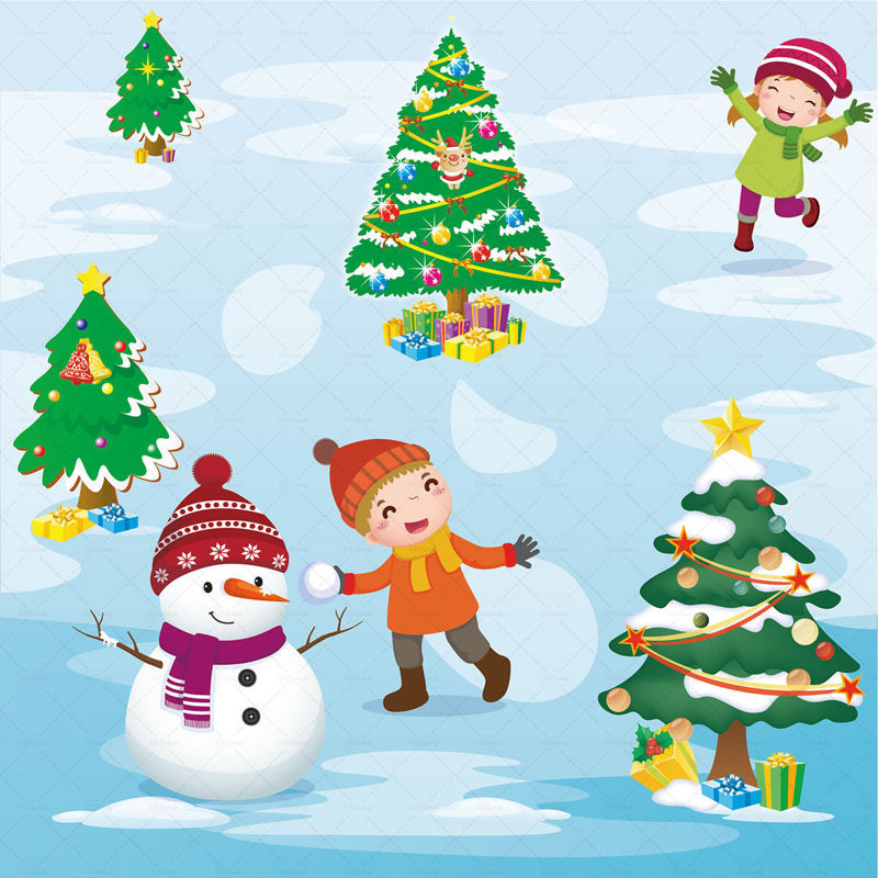 بردار عناصر کریسمس