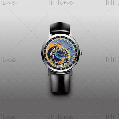 Часы созвездие вектор