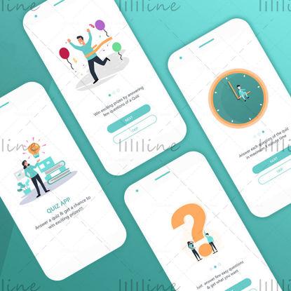 Quiz App Screen Onboarding UI