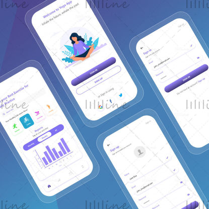 Yoga App UI Design
