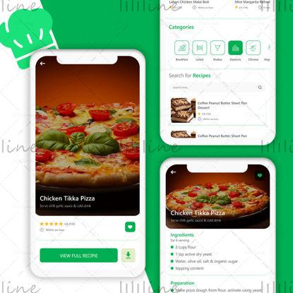 Cooking App UI