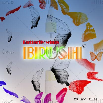 【Vlindervleugels】PS Borstels