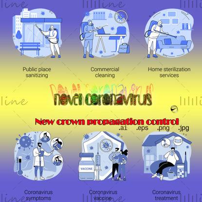 Контроль распространения коронавируса COVID ‑ 19 【001】