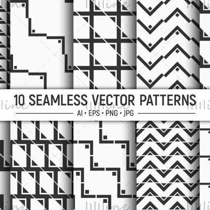 10 الگوی هندسی بردار بدون درز