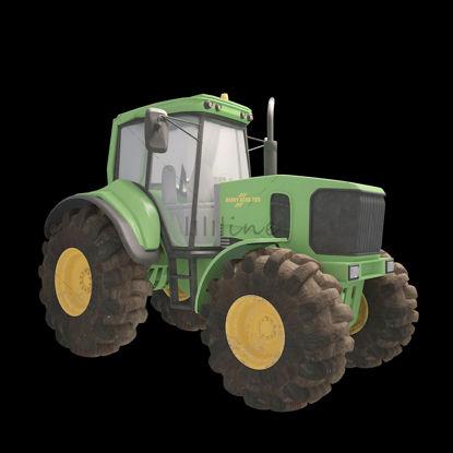 Трактор 3D Модель