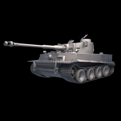 Немецкий танк-тигр времен Второй мировой войны 3D Модель