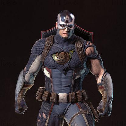 Captain America Hydra modello 3D STL per la stampa 3D