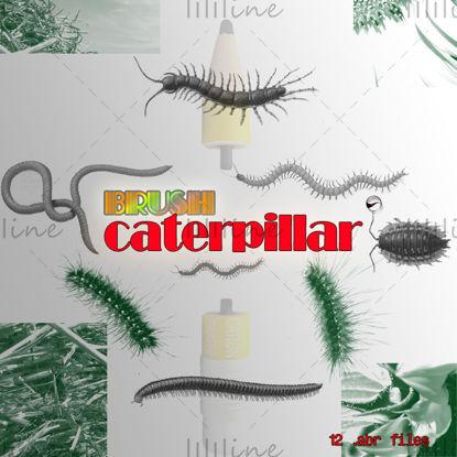 【Caterpillar】-PS borstel