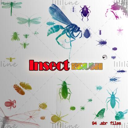 [حشرات مختلفة] فرشاة PS