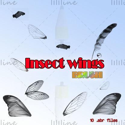 【اجنحة الحشرات】 -PS فرشاة
