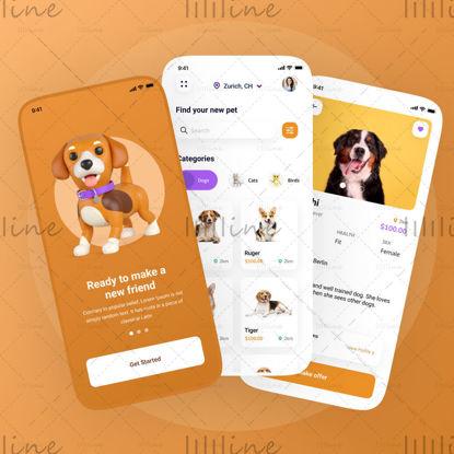 Diseño de la aplicación de adopción de mascotas