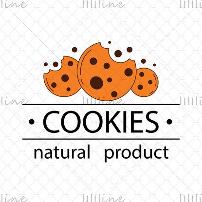 لوگوی طبیعی محصول کوکی ها