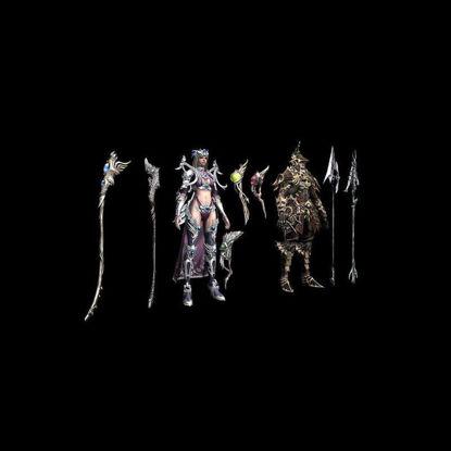 لعبة نموذج ثلاثي الأبعاد لشخصية اللعبة