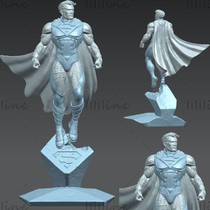 Superman miniatures modelo 3D listo para imprimir
