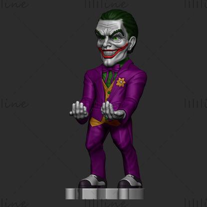 Estatua Joker anime modelo 3D listo para imprimir