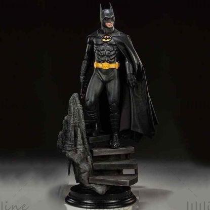 Batman 1989 Michael keaton estatua modelo 3d ready print