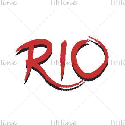 Rio digitális kézi betűkkel pénzt rablás becenév