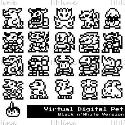 رمز Virtual Digital Pet