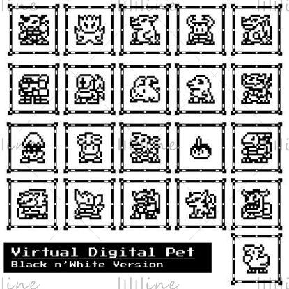 حيوان أليف افتراضي رقمي