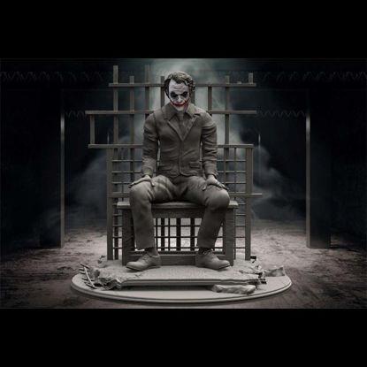 Joker en prisión miniaturas modelo 3D listo para imprimir