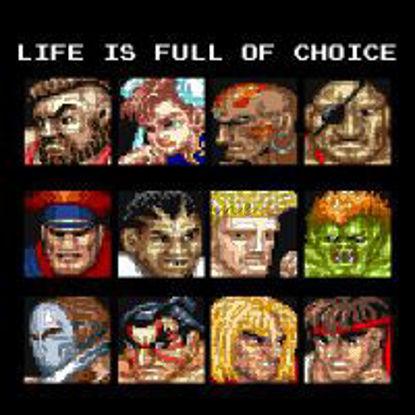 أيقونات لعبة Street Fighter 2