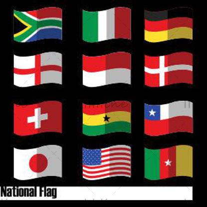أيقونات العلم الوطني